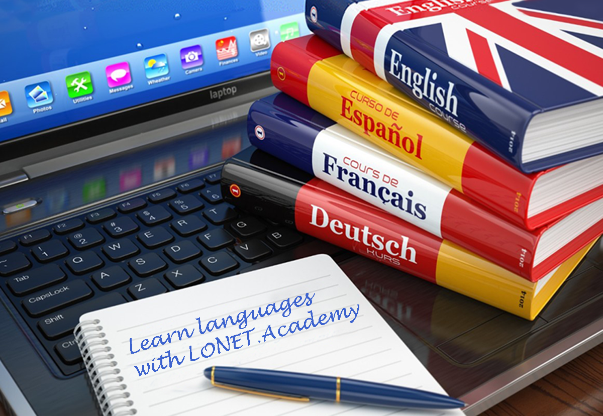 learn languages with Lonet.Academy